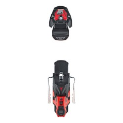 Atomic Warden MNC 13 (BLACK/RED-19) + 100 Brake