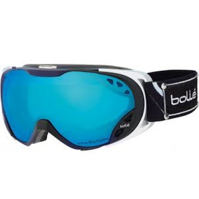 Bolle Duchess (Black Silver Opera Phantom) Modutator Vermillion Blue Lens