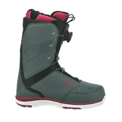 Flow Onyx Boa Boot (Slate/Ruby) Wmns 18