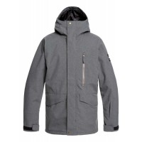 Quiksilver Mission Jkt (BLACK HEATHER-KRPH) - 20