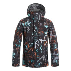 Quiksilver Mission Printed Youth jkt (BGZ7)