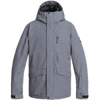 Quiksilver Mission Solid jkt (Heather Grey) - 21