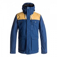 Quiksilver Raft Youth Jkt (Estate Blue)
