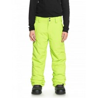 Quiksilver Estate Youth Pant (Lime Green -19)