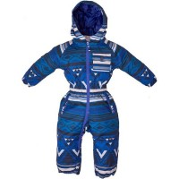 Elude Boys Onesie 0yr - 3yr (MOUNTAIN AZTEC SOLIDATE BLUE)