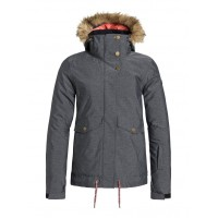Roxy Grove Jkt (Herringbone Grey - (KPV0) 18