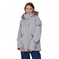 Roxy Meade Jkt (HEATHER GREY-SJEH) - 20