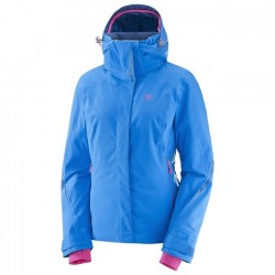 Salomon Ladies Brilliant jkt  (Sky Diver) (18)