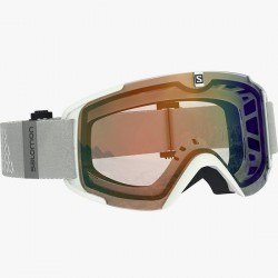 Salomon XView Photo Goggle (White-20) AW Blue