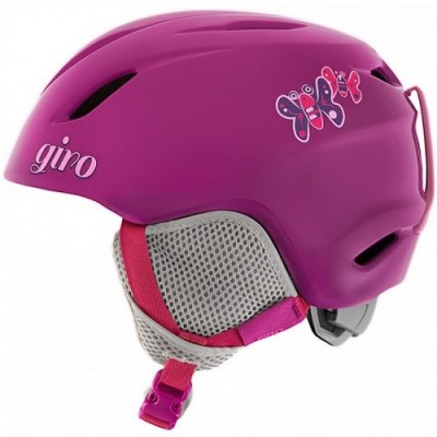 Giro Launch Kids Helmet Berry Butterflies (17)